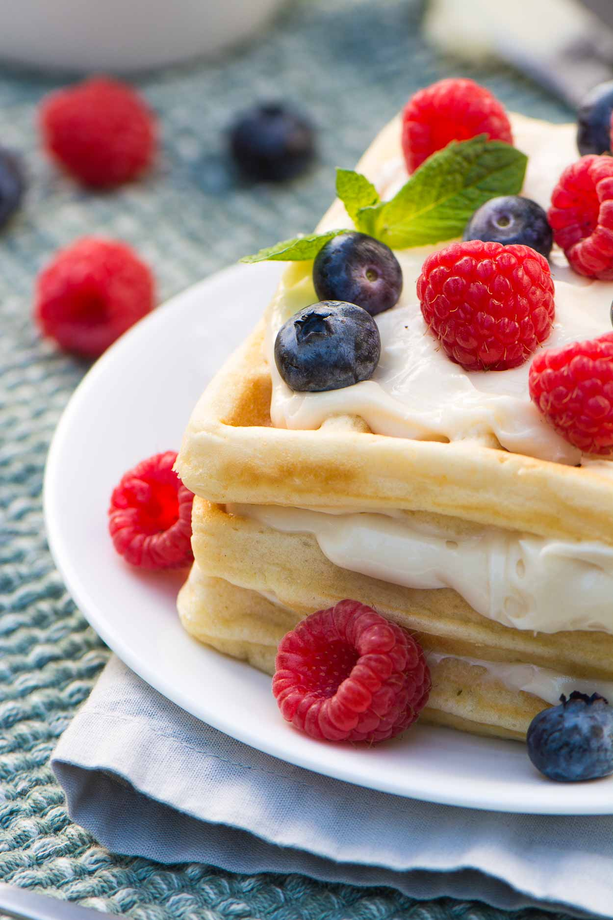 Classic Waffles Recipe - Simple Revisions