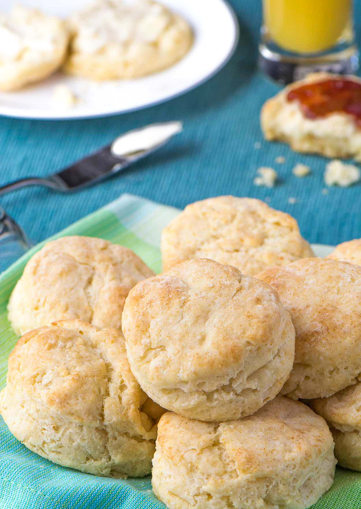 Made from scratch buttermilk biscuits