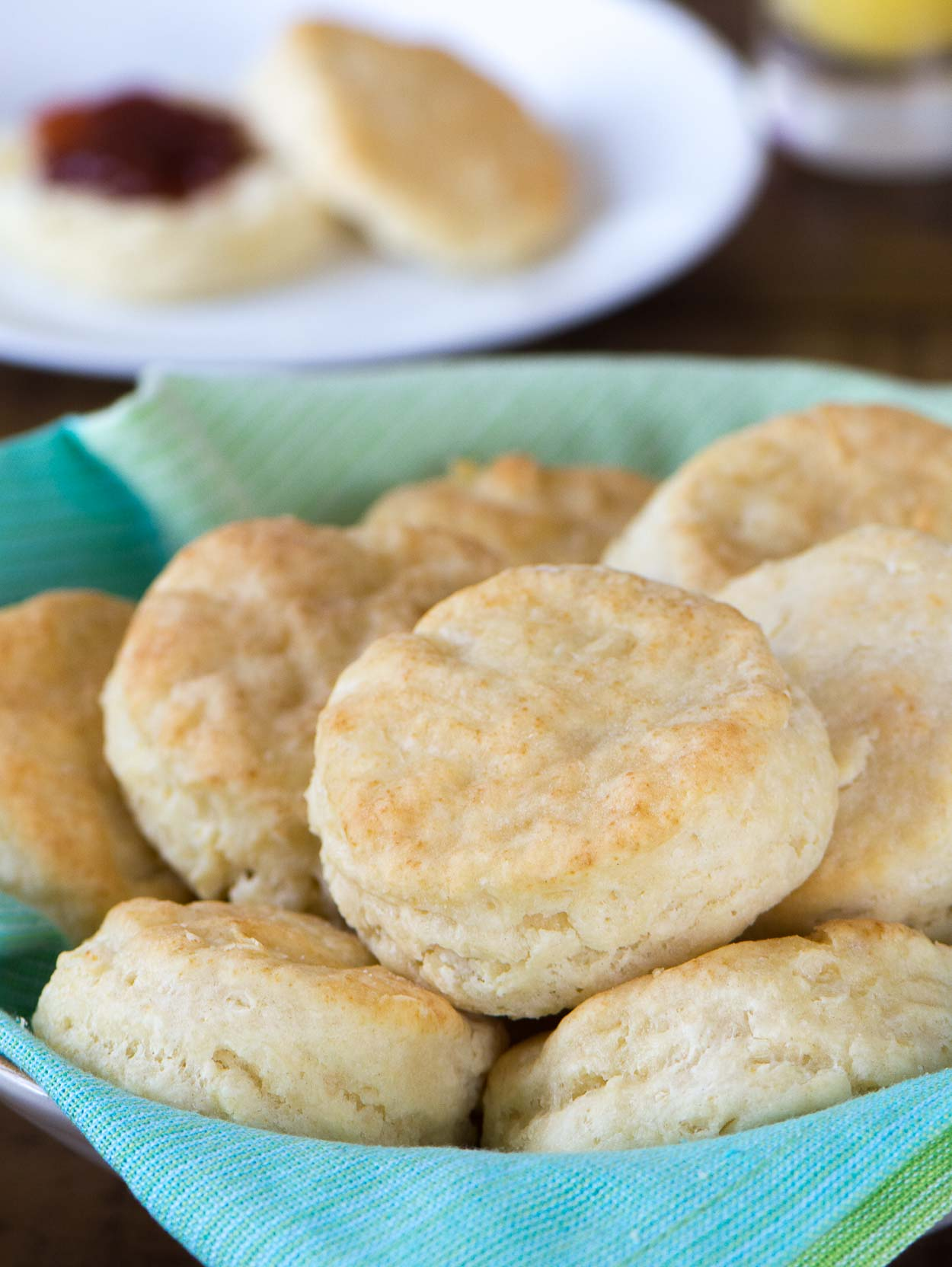 Buttermilk Biscuits made from scratch