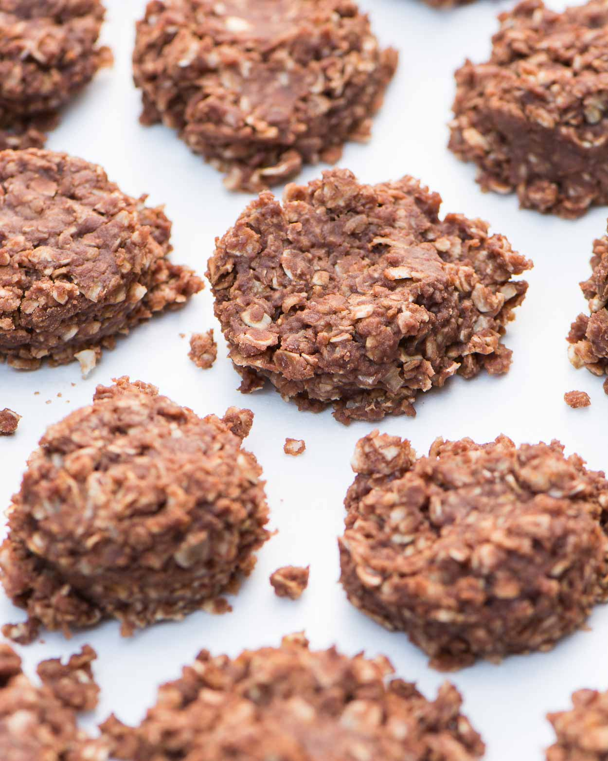 Chewy Chocolate No Bakes Recipe