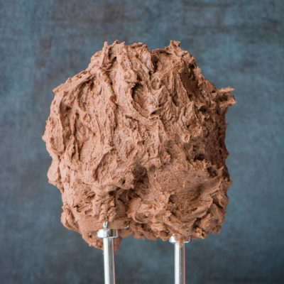Easy to make, smooth and creamy, this is the most perfect chocolate frosting recipe you will ever need.